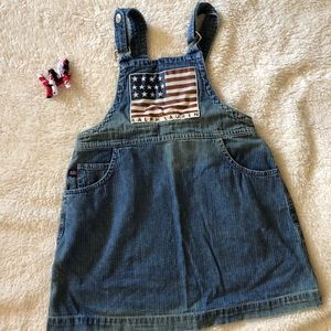 Ralph Lauren Overall Dress Perfect for 4th of July